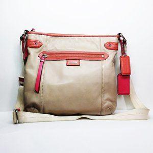 Coach Leather Shoulder Bag Pre-owned